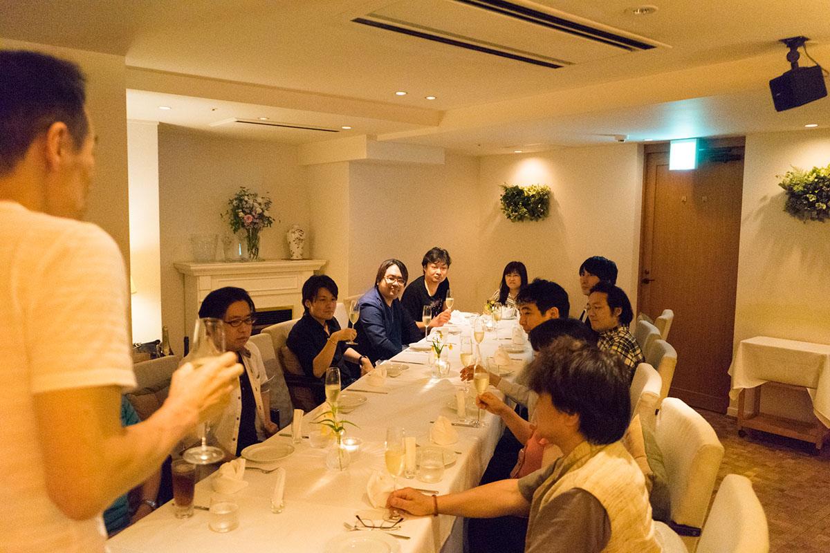 成増塾 高卒部 講師親睦会の写真